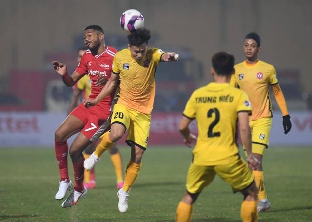 Đương kim vô địch CLB Viettel thua đau trận mở màn V-League 2021 - 6
