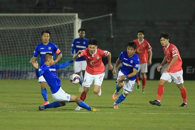 Hai lần đá hỏng phạt đền, HL Hà Tĩnh thua đau trước Than Quảng Ninh - 3