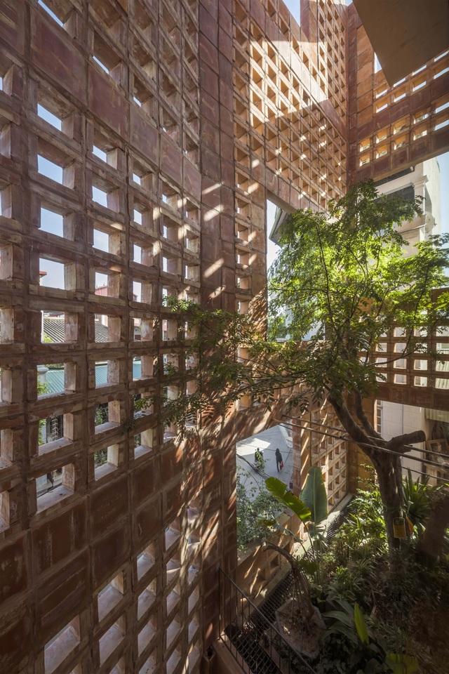Nhà gạch Bát Tràng của Việt Nam đoạt giải kiến trúc quốc tế - 11