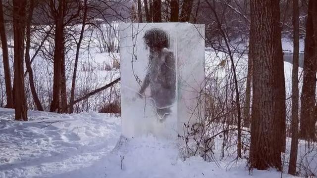 Bí ẩn khối băng chứa người cổ đại xuất hiện trong công viên Mỹ - 1