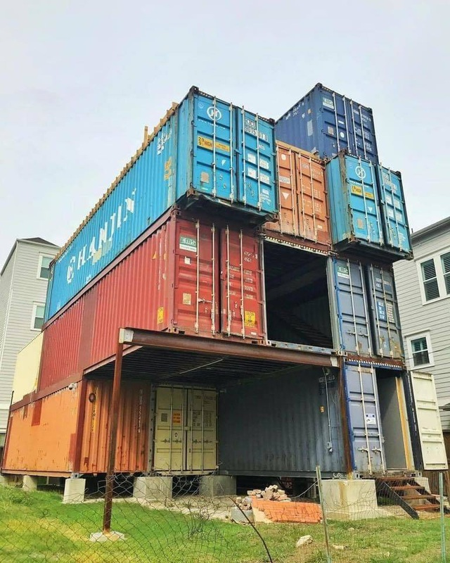 Nhà 3 tầng làm từ 11 container, bất ngờ nhất là nội thất hiện đại bên trong - 2