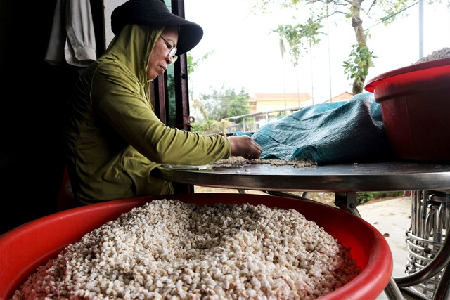 Cả làng hò nhau nổ nếp làm nên thứ bánh Tết đặc sản xứ Quảng - 2
