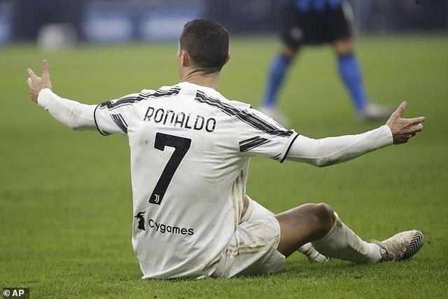 C.Ronaldo gây thất vọng, Juventus gục ngã ở đại chiến với Inter Milan - 1