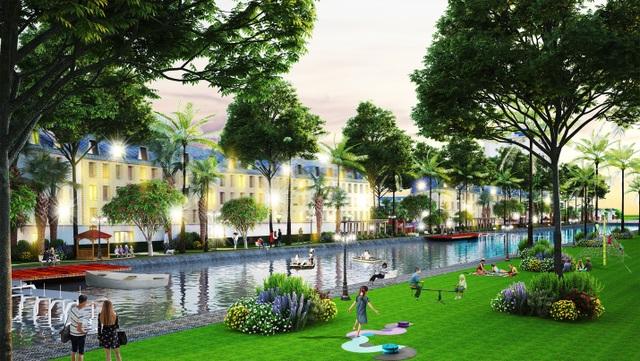 Không gian sống xanh, hiện đại tại Phương Nam River Park - 2
