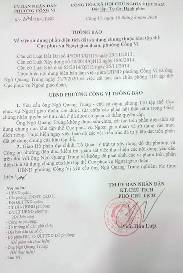 Khởi tố vụ côn đồ đập phá, đánh dân dã man giữa ban ngày tại quận Ba Đình - 5