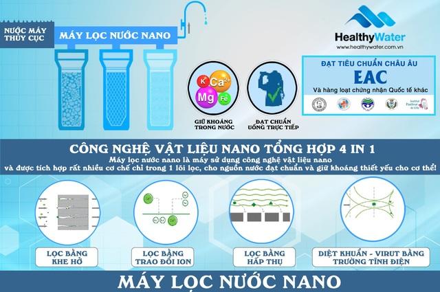 Review máy lọc nước nano dành cho nước giếng khoan Geyser Vuoxa 5 - 3