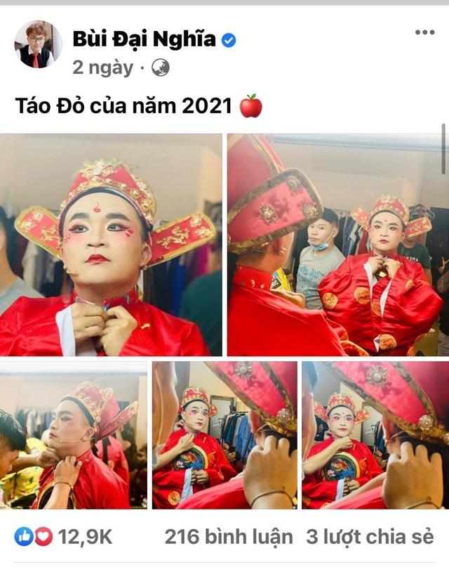Vĩnh Thụy gây nhốn nháo khi lần đầu tập kịch cùng dàn Táo Xuân 2021 - 6