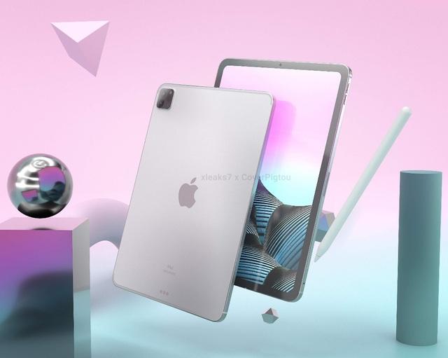Lộ loạt ảnh cho thấy thiết kế của iPad Pro phiên bản 2021 - 1