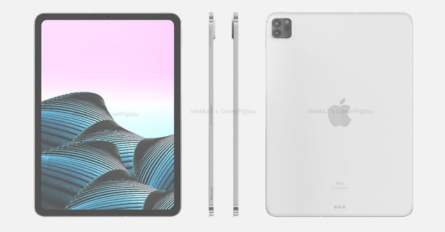 Lộ loạt ảnh cho thấy thiết kế của iPad Pro phiên bản 2021 - 2