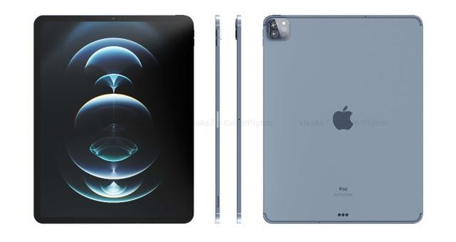 Lộ loạt ảnh cho thấy thiết kế của iPad Pro phiên bản 2021 - 5