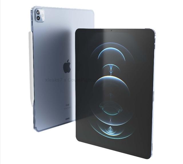 Lộ loạt ảnh cho thấy thiết kế của iPad Pro phiên bản 2021 - 7