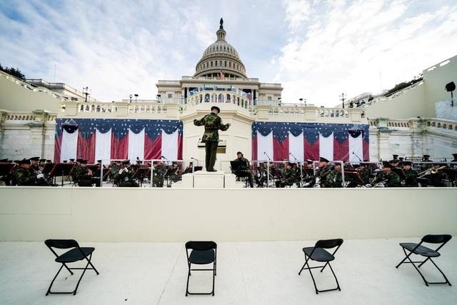 Cận cảnh buổi diễn tập cho lễ nhậm chức của ông Biden - 8