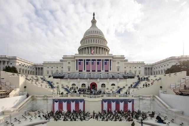 Cận cảnh buổi diễn tập cho lễ nhậm chức của ông Biden - 1