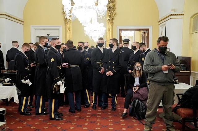 Cận cảnh buổi diễn tập cho lễ nhậm chức của ông Biden - 15