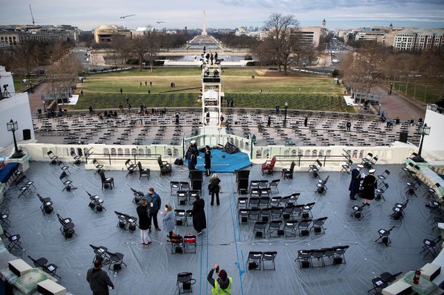 Cận cảnh buổi diễn tập cho lễ nhậm chức của ông Biden - 3