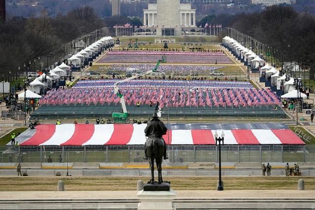 Cận cảnh buổi diễn tập cho lễ nhậm chức của ông Biden - 7
