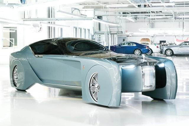 Rolls-Royce chuẩn bị ra bom tấn xe chạy điện - 1