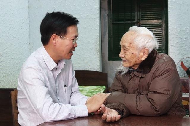 Trưởng Ban Tuyên giáo Trung ương Võ Văn Thưởng chúc Tết tại Quảng Ngãi - 2