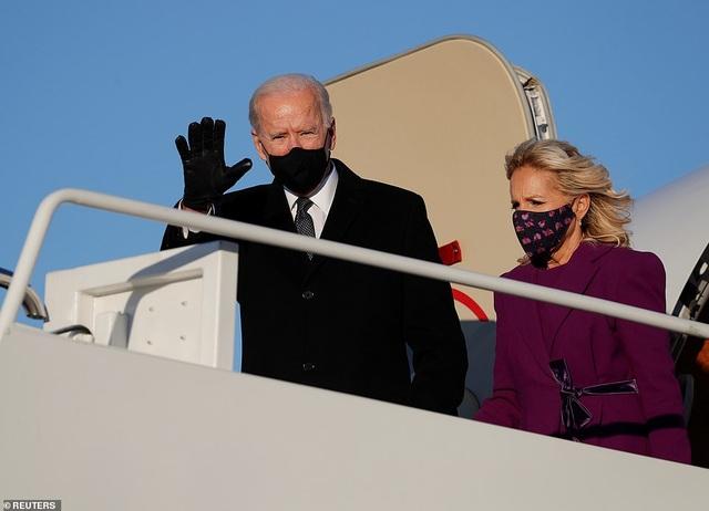 Ông Biden tạm biệt quê nhà, đến Washington bắt đầu các nghi thức nhậm chức - 5