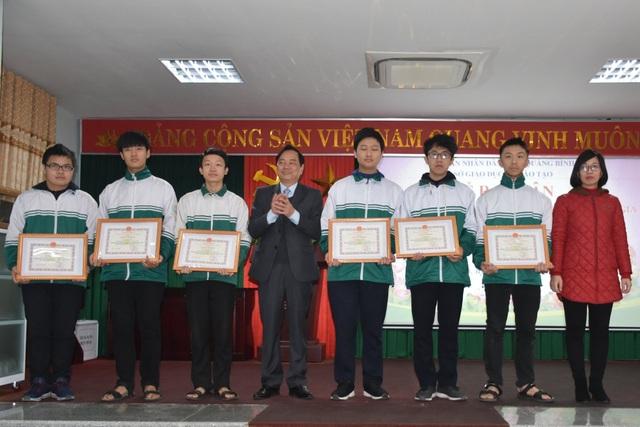 Quảng Bình có 41 học sinh đạt giải tại kỳ thi Học sinh giỏi Quốc gia - 1