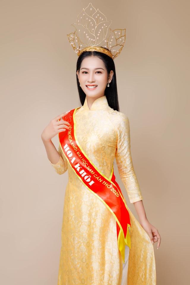 Tân Hoa khôi Sinh viên Việt Nam tiết lộ điều bất ngờ sau đăng quang - 4