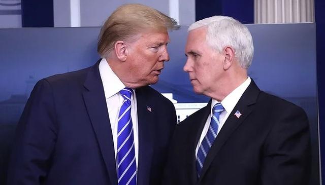 Phó tướng Pence không dự lễ chia tay ông Trump giữa tin đồn rạn nứt - 1