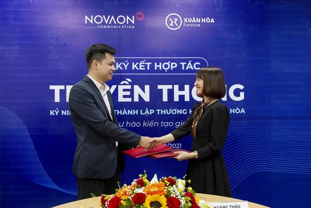 Nội thất Xuân Hòa ký hợp đồng hợp tác chiến lược với Novaon Communication - 2