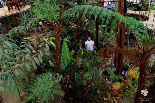 Rừng nhiệt đới thu nhỏ trong quán cà phê ở Đà Lạt - 1