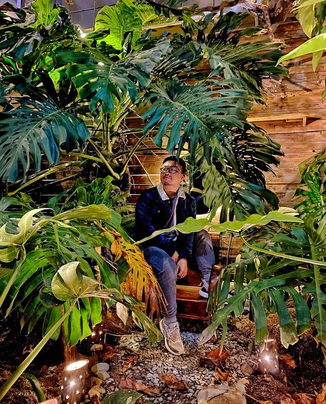 Rừng nhiệt đới thu nhỏ trong quán cà phê ở Đà Lạt - 5