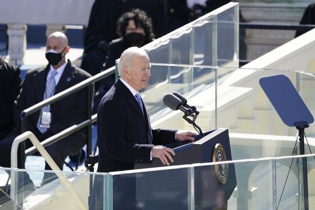 Những hình ảnh ấn tượng trong lễ nhậm chức của ông Biden - 22