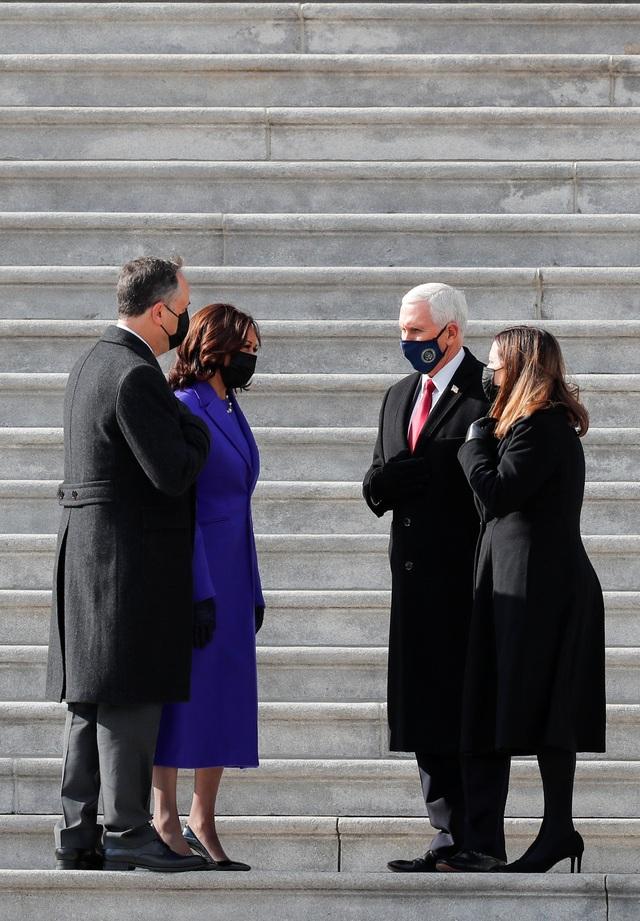 Những hình ảnh ấn tượng trong lễ nhậm chức của ông Biden - 26