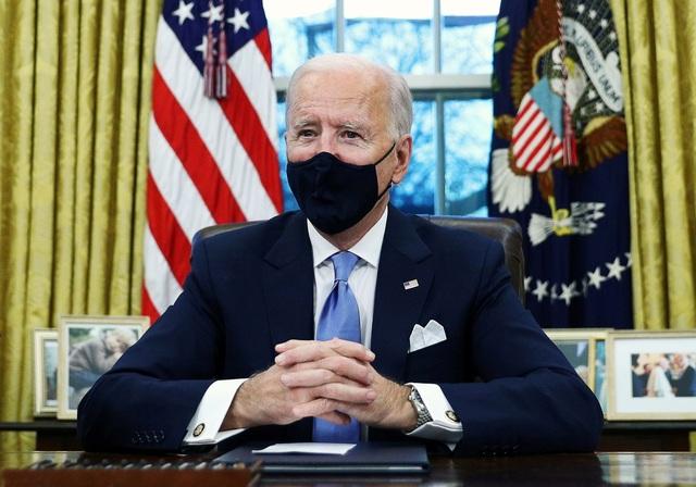 Ông Biden thay đổi Phòng Bầu dục sau khi ông Trump rời đi - 1