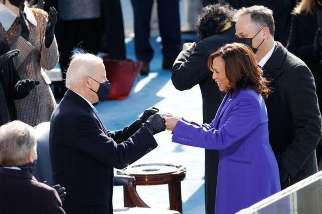 Những hình ảnh ấn tượng trong lễ nhậm chức của ông Biden - 10