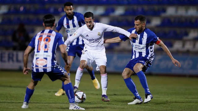 Real Madrid bị đội hạng ba loại khỏi Cúp Nhà vua - 8