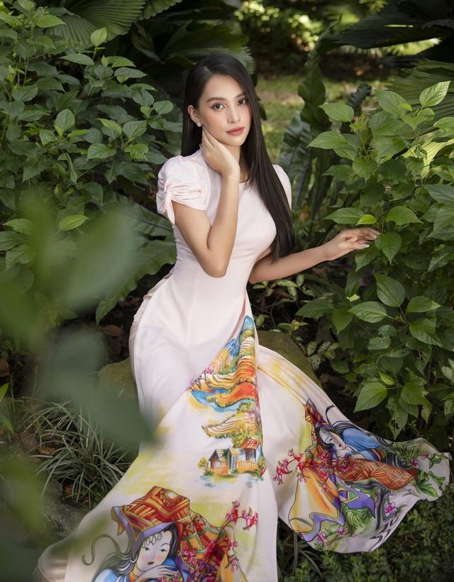 Trần Tiểu Vy tung loạt ảnh áo dài dự đoán trở thành hot trend dịp Tết - 7