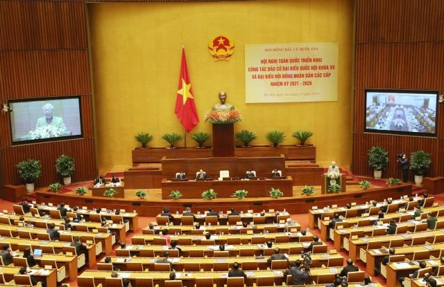 95 Ủy viên Trung ương, 12-14 Ủy viên Bộ Chính trị trong Quốc hội khóa mới - 1