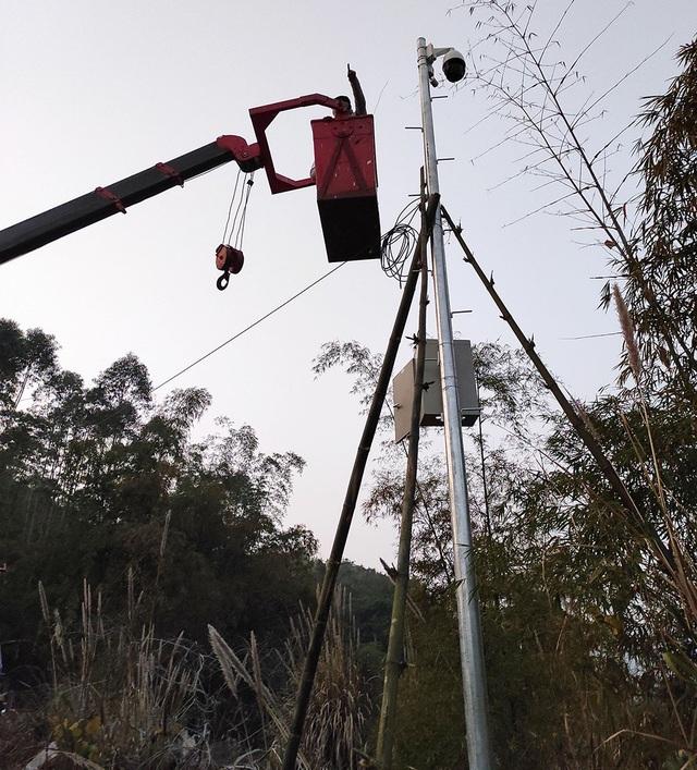 Quảng Ninh lắp camera giám sát khu vực biên giới - 1