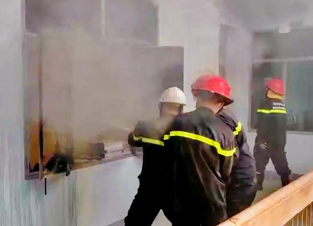 Điều tra vụ cháy tại Phòng Thanh tra Sở TN-MT - 1