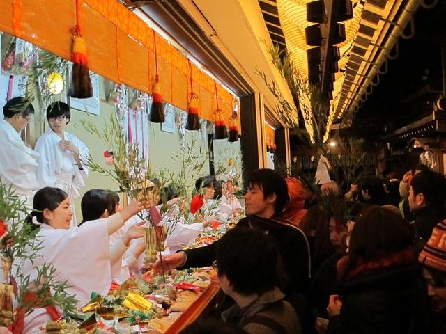Lễ hội cầu may mắn đầu tiên trong năm tại Tokyo có gì đặc biệt? - 1