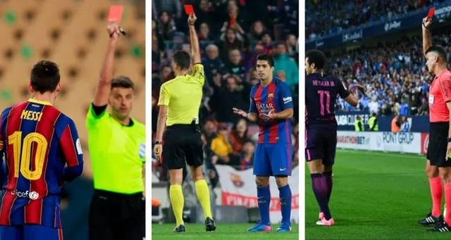 Trọng tài đuổi Messi cần phải bị... trừng phạt - 1