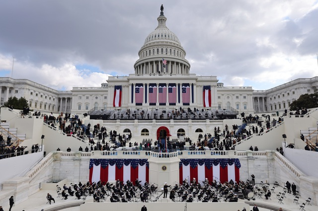 Những hình ảnh ấn tượng trong lễ nhậm chức của ông Biden - 1