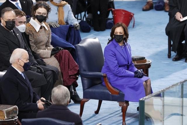 Những hình ảnh ấn tượng trong lễ nhậm chức của ông Biden - 12
