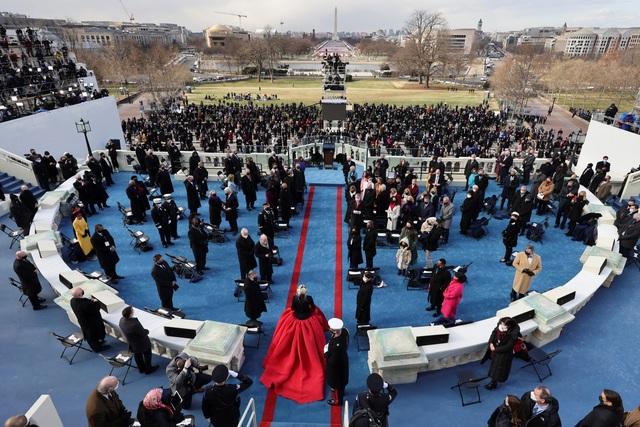 Những hình ảnh ấn tượng trong lễ nhậm chức của ông Biden - 14