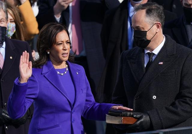 Những hình ảnh ấn tượng trong lễ nhậm chức của ông Biden - 17