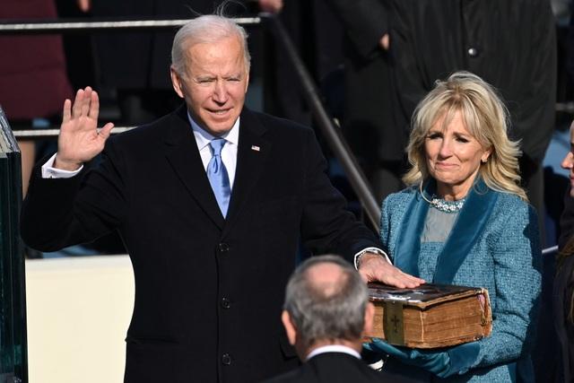 Những hình ảnh ấn tượng trong lễ nhậm chức của ông Biden - 19