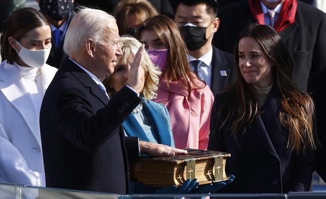 Những hình ảnh ấn tượng trong lễ nhậm chức của ông Biden - 20