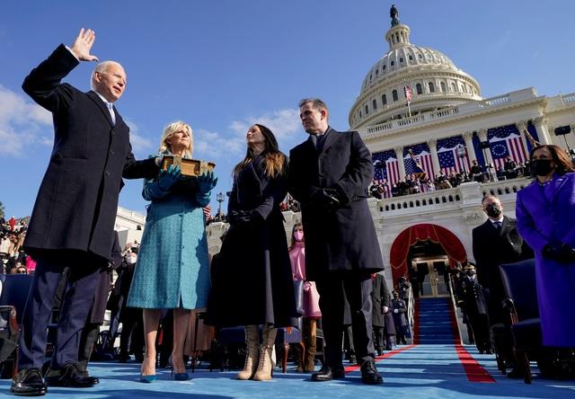 Những hình ảnh ấn tượng trong lễ nhậm chức của ông Biden - 21