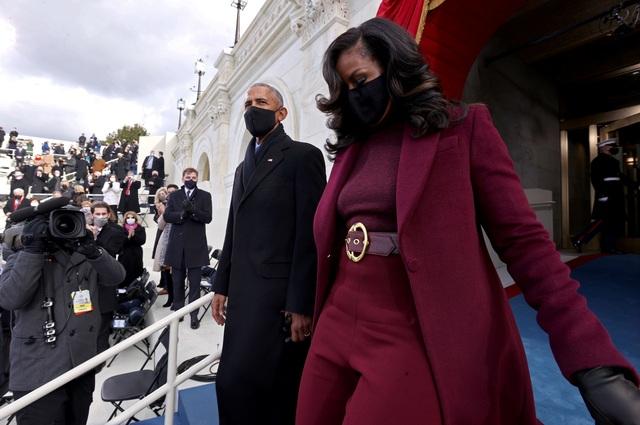 Những hình ảnh ấn tượng trong lễ nhậm chức của ông Biden - 4