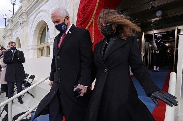 Những hình ảnh ấn tượng trong lễ nhậm chức của ông Biden - 5