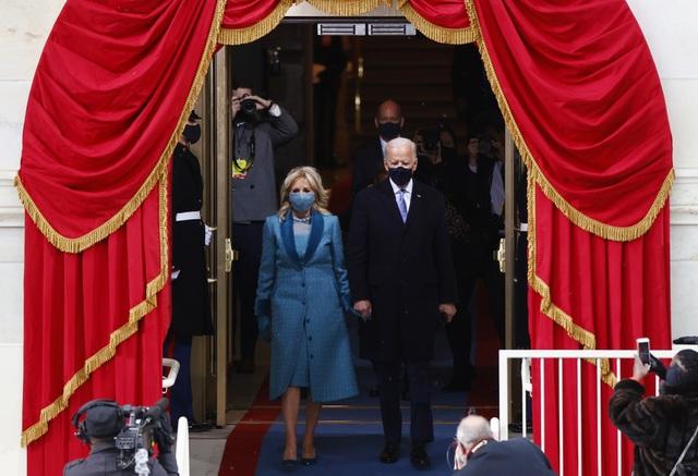 Những hình ảnh ấn tượng trong lễ nhậm chức của ông Biden - 8
